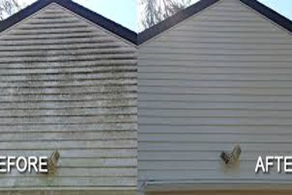 Before and After Pressure Washing 01