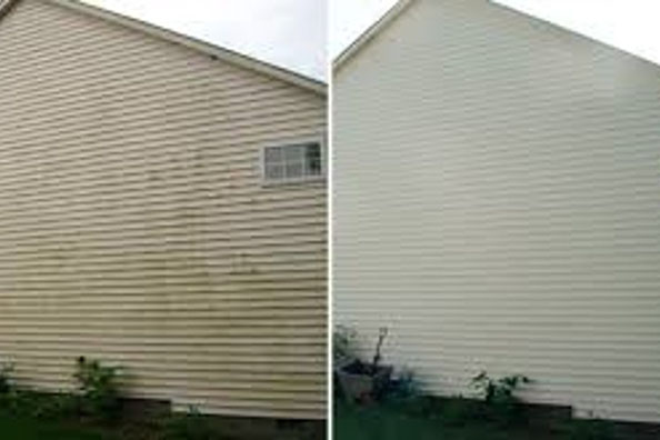 Before and After Pressure Washing 02