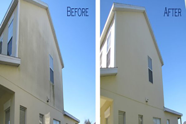 Stucco Pressure Washng